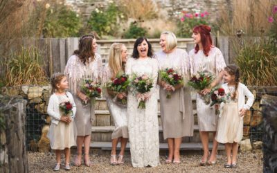 Brides & her tribe